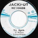 Try Again / Ver - Delroy Wilson / The Aggrovators
