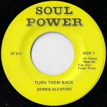 Turn Them Back / Version Back Boy - Dennis Alcapone