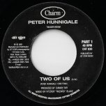 Two Of Us / Thunder Riddim - Peter Hunnigale