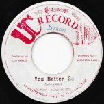 You Better Go / Ver - Ken Parker / Ken Parker All Stars