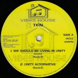 We Should Be Living In Unity / Unity alternative / Fire In Their Souls / Chant Against The Wicked - Dezzi D / Brushy One String