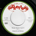 Weak Heart Feel It / Part 2 - Shaumark And Robinson