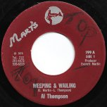 Weeping And Wailing / Wailing Ver - Al Thompson Actually Linval Thompson