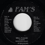 Well Please / Ver - Wailers Band / Wailers All Stars