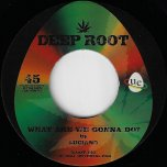 What Are We Gonna Do / Dub  - Luciano