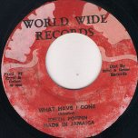 What Have I Done / Jungle Rock (Ver) - Keith Poppin / Skin Flesh and Bones
