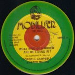 My Love For You / What Kind Of World - Cornel Campbell and Peter Metro