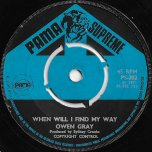When Will I Find My Way / Candida - Owen Gray