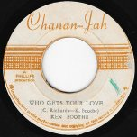 Who Gets Your Love / Ver - Ken Boothe