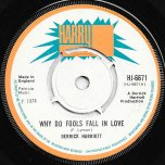 Why Do Fools Fall In Love / Ver - Derrick Harriot