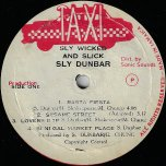 Sly Wicked And Slick - Sly Dunbar