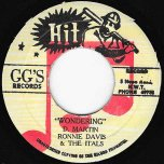 Wondering / Dub Part 2 - Ronnie Davis And The Itals
