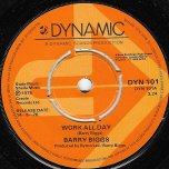 Work All Day / Play All Night - Barry Biggs