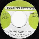 You Love Me I Love You / Ver - Glen Brown