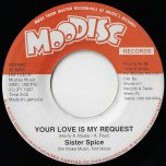 Your Love Is My Request / Dub Mix - Sister Spice