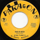 Youre All I Need / Dub In Need - Patrick Alley / King Tubby